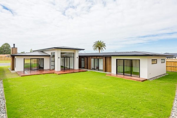 Christchurch new build exterior built by Forbes Residential