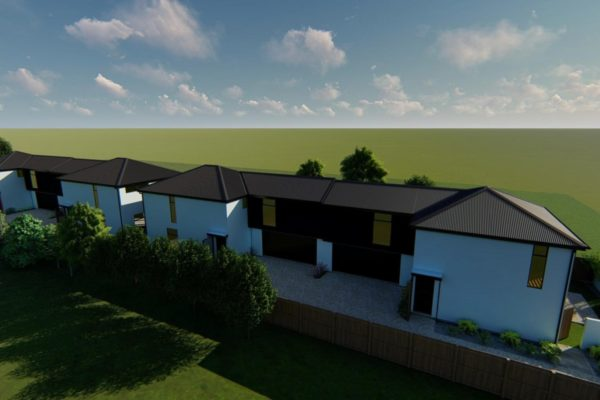 Forbes Residential St Albans Christchurch exterior render