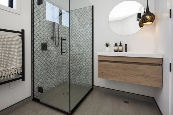 Forbes Residential Christchurch Builders Cannon Street townhouses bathroom