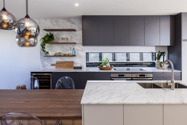 Cannon Street townhouses kitchen built by Forbes Residential Christchurch builders