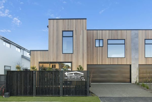 Forbes Residential builders Cannon Street Townhouses exterior Christchurch
