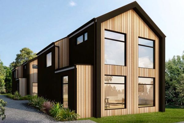 Bishop Street new build exterior built by Forbes Residential in Christchurch New Zealand