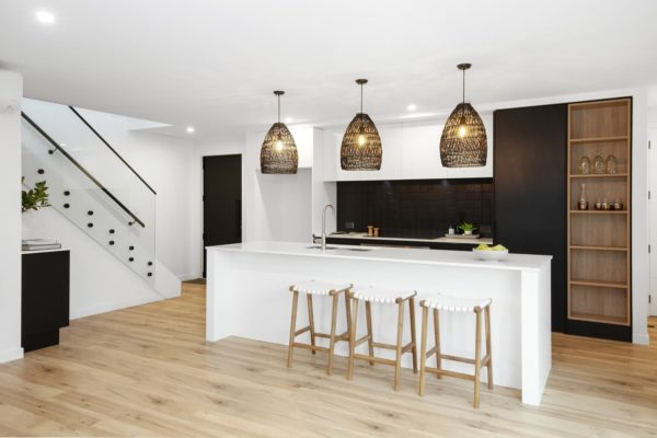 Forbes Residential Christchurch Builders Bishop Street new build kitchen and staircase