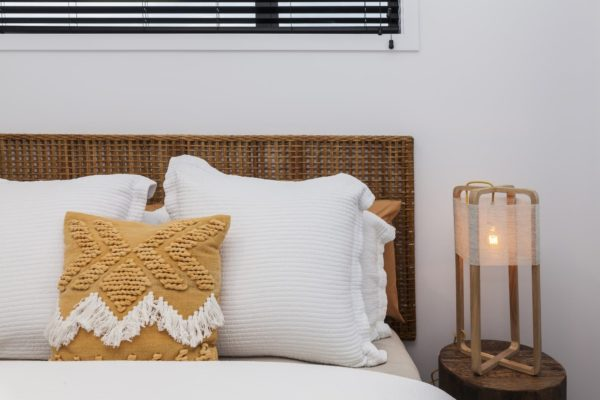 Bedroom built by Forbes Residential in Christchurch at the Bishop Street new build