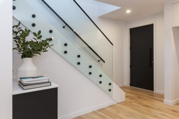 stairway in Bishop Street new build built by Forbes Residential in Christchurch