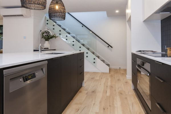 Bishop Street new build kitchen built by Forbes Residential