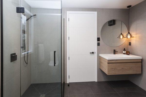 Forbes Residential Bishop Street New build New Zealand modern bathroom