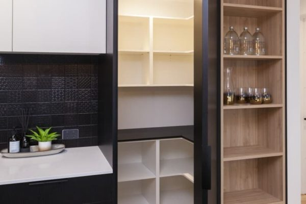 Forbes Residential pantry at Bishop Street new build Christchurch