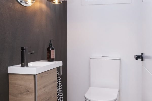 Forbes Residential Christchurch builders Bishop Street new build modern toilet