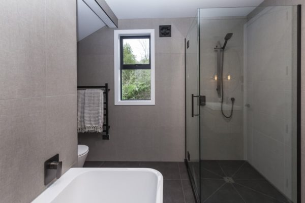 bathroom built by Forbes Residential at the Bishop Street new build in Canterbury