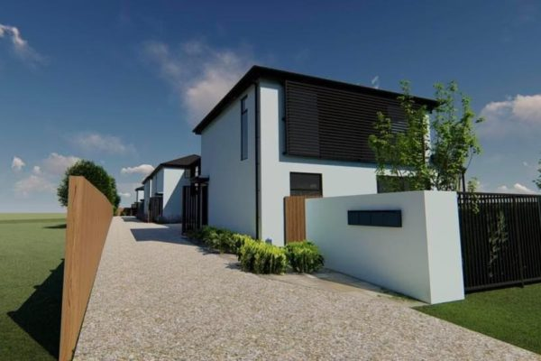 Forbes Residential new build Christchurch St Albans Townhouses