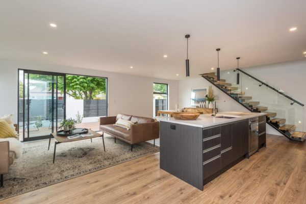 Edgeware townhouse Canterbury kitchen and dining room built by Forbes Residential