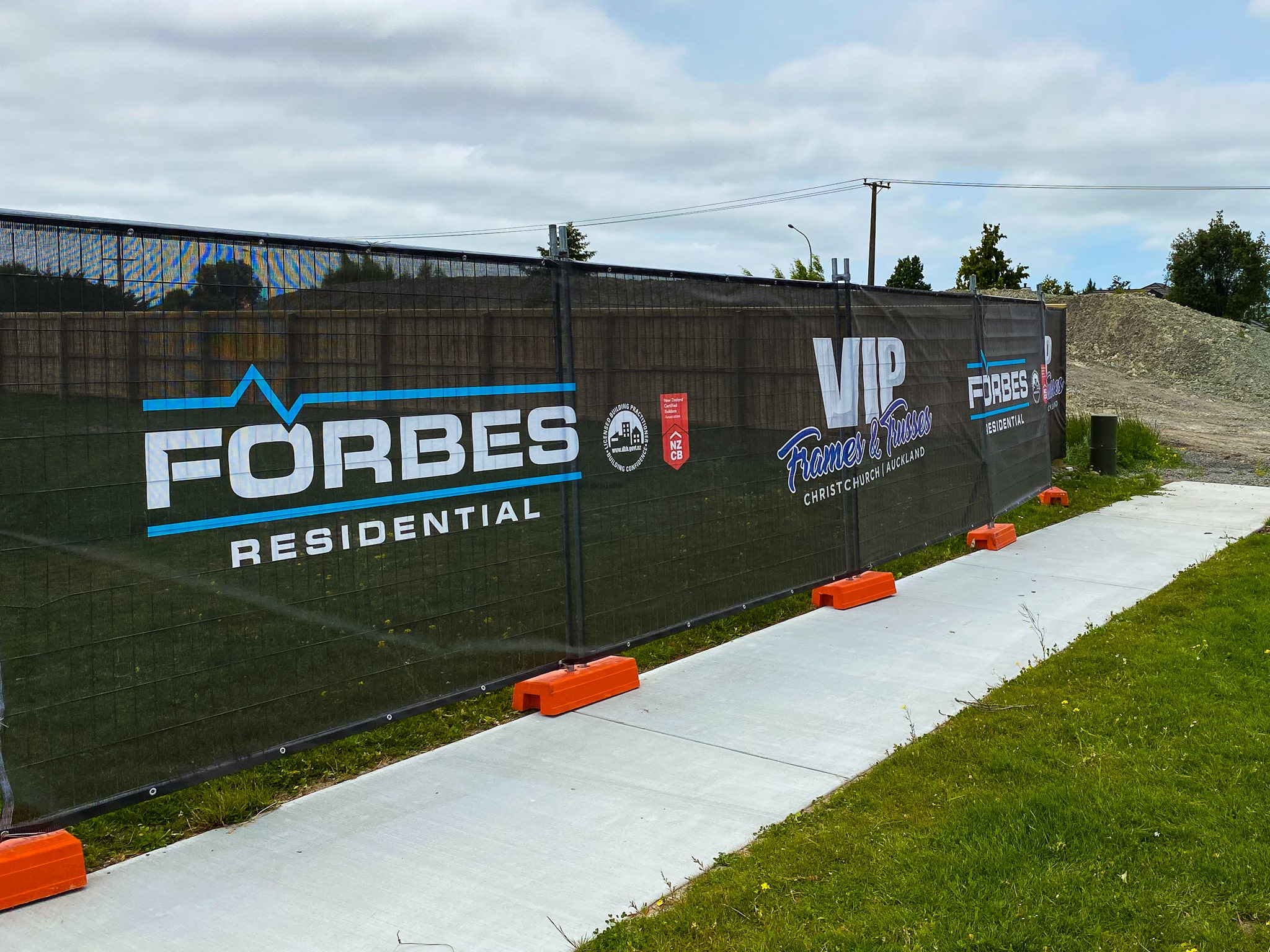 Forbes Residential New Zealand new home building site