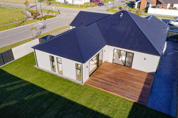 Forbes Residential Two Roads new build Canterbury top of house