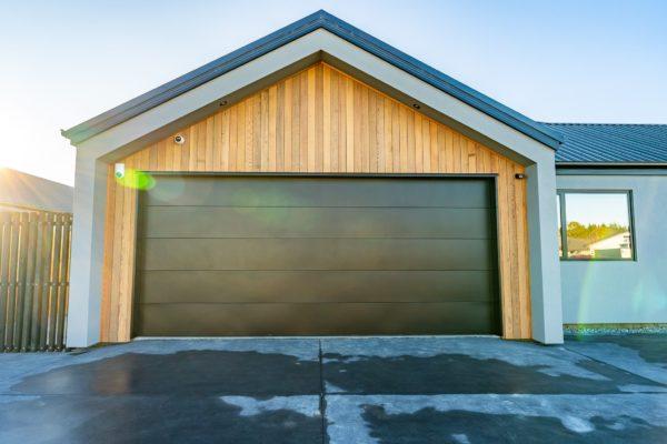 Forbes Residential Two Roads new build New Zealand garage door