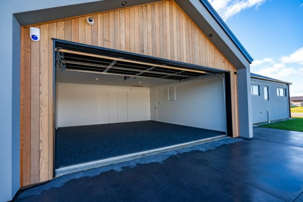 Forbes Residential Two Roads new build Christchurch garage open