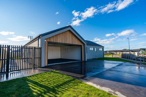 Forbes Residential Two Roads new build nz garage and house