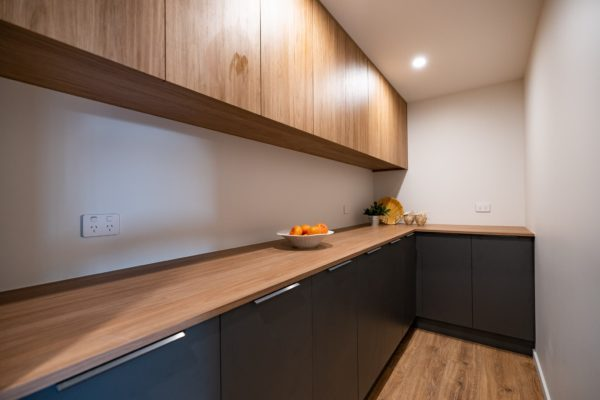 Forbes Residential Two Roads new build Christchurch kitchen storage