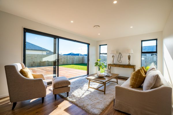 Forbes Residential Two Roads new build New Zealand living room