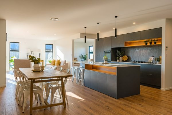 Forbes Residential Two Roads new build nz dining room and kitchen