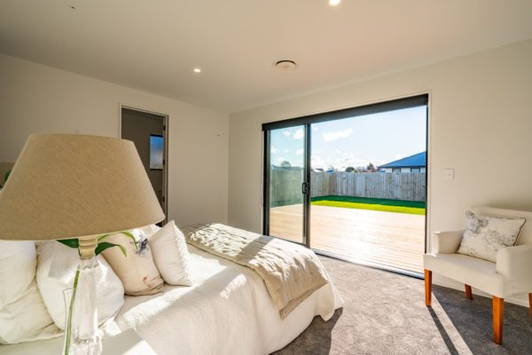 Forbes Residential Two Roads new build New Zealand turnkey home bedroom