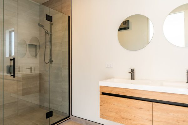Forbes Residential Two Roads new build nz bathroom sink
