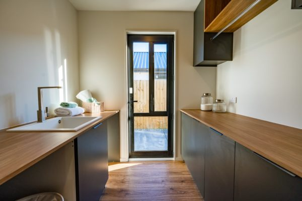 Forbes Residential Two Roads new build New Zealand laundry
