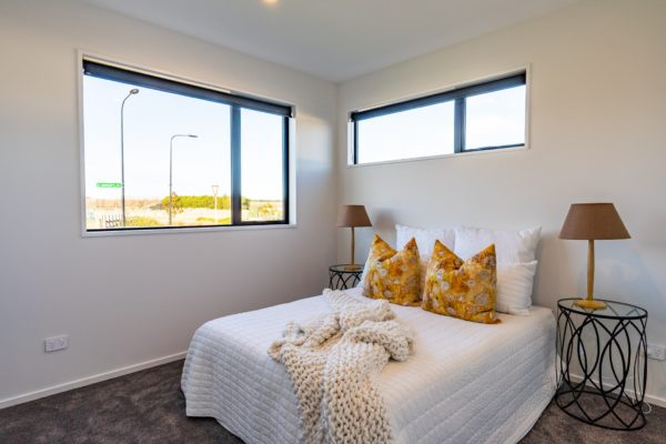 Forbes Residential Two Roads new build Christchurch bedroom