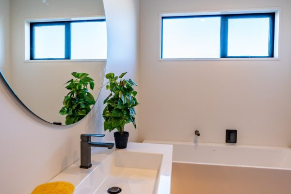 Forbes Residential Two Roads new build New Zealand bathroom sink