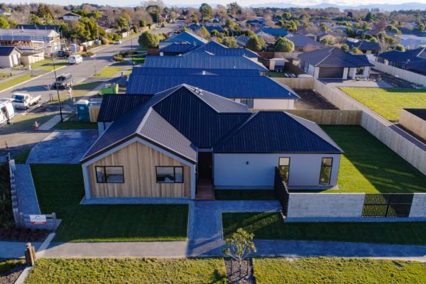 Forbes Residential Two Roads new build Canterbury sky view